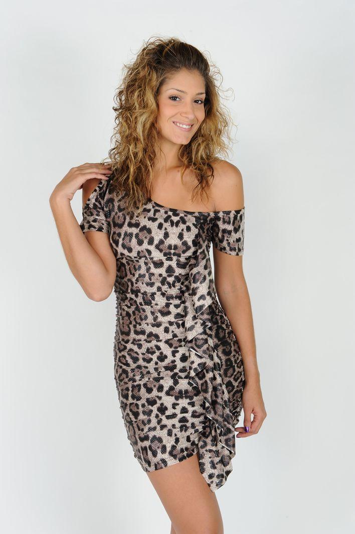 Vestido Mi Sope Animal Print