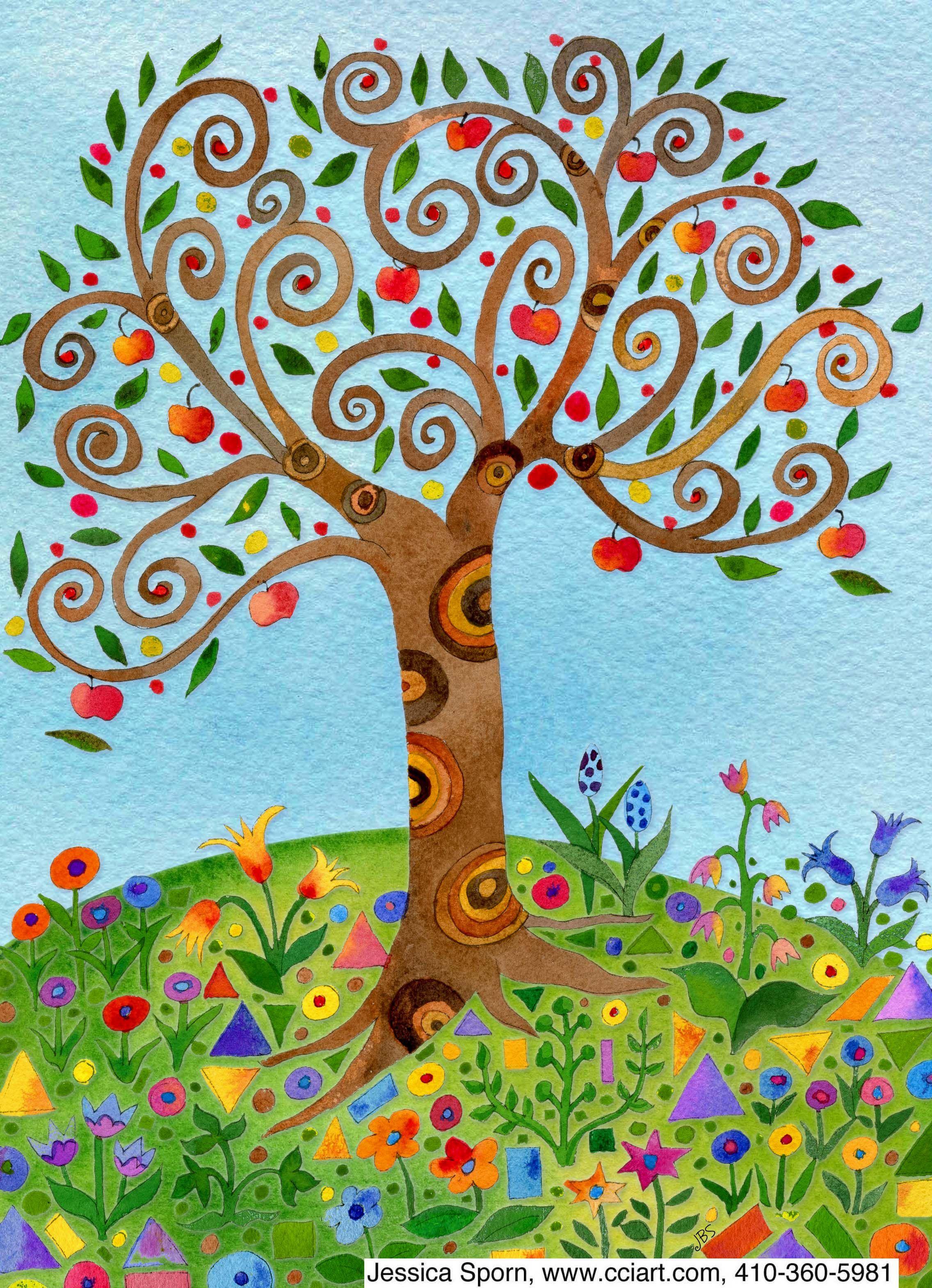 Картинки, дерево жизни картинки по изо