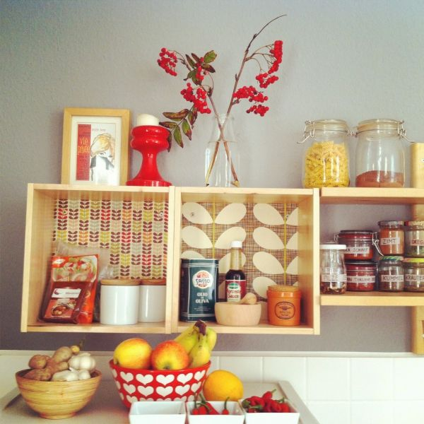 Küchenregal., Tags Regal, Ikea, Orla Kiely, #DIY   Home Bling ...