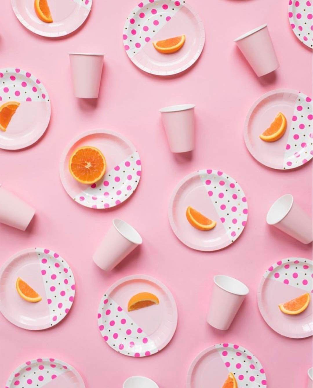 """3,334 Likes, 10 Comments - #candyminimal (@candyminimal) on Instagram: """"@bashpartygoods created this lovely pink and citrusy composition 💖🍊 #candyminimal"""""""