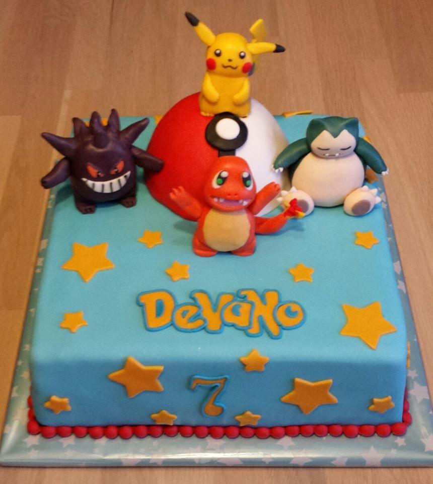 Pokemon cake Pinteres