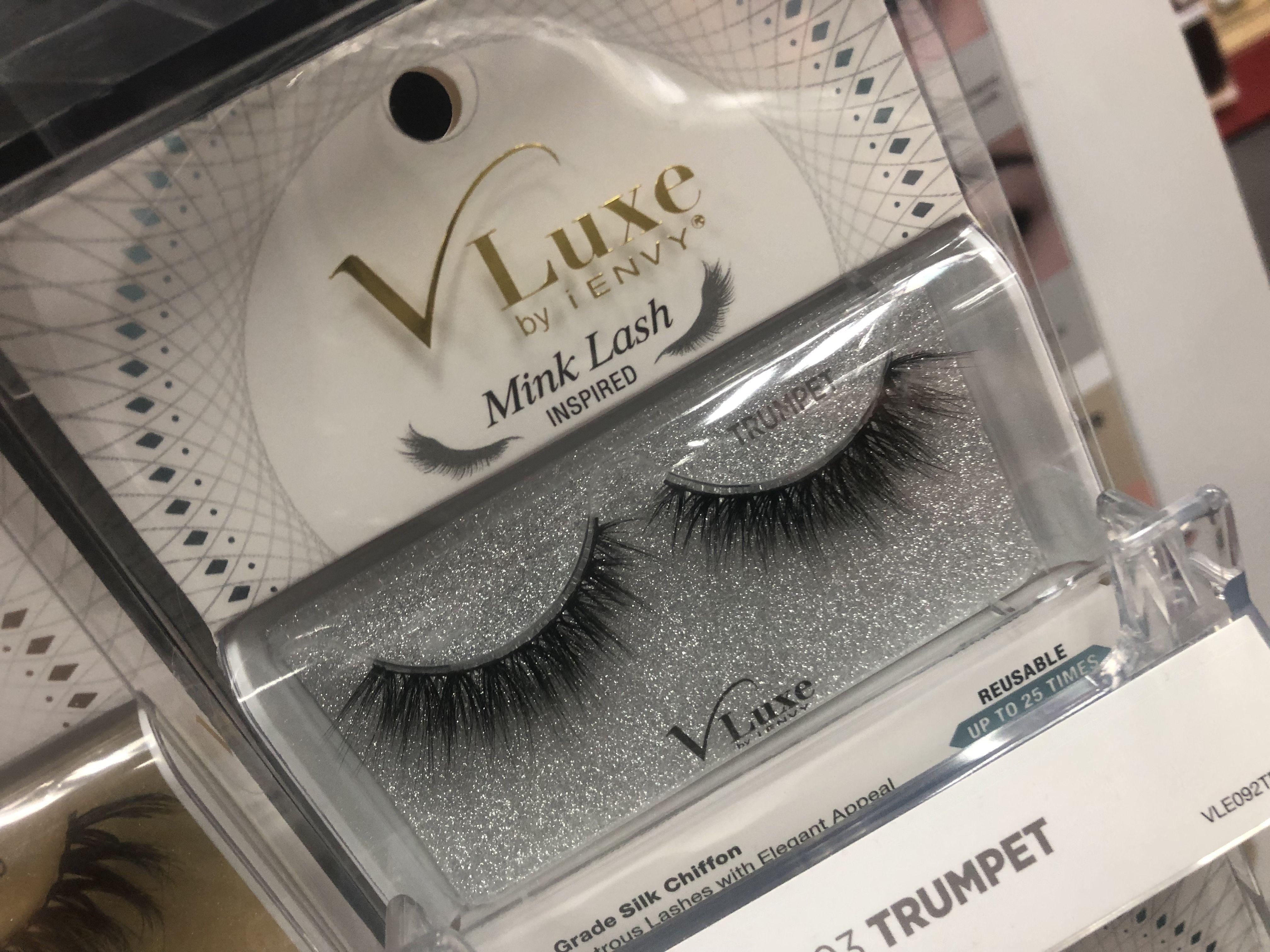 fc77e73a4a3 V Luxe | Eyelashes in 2019 | Lashes, Eyelashes, Mink