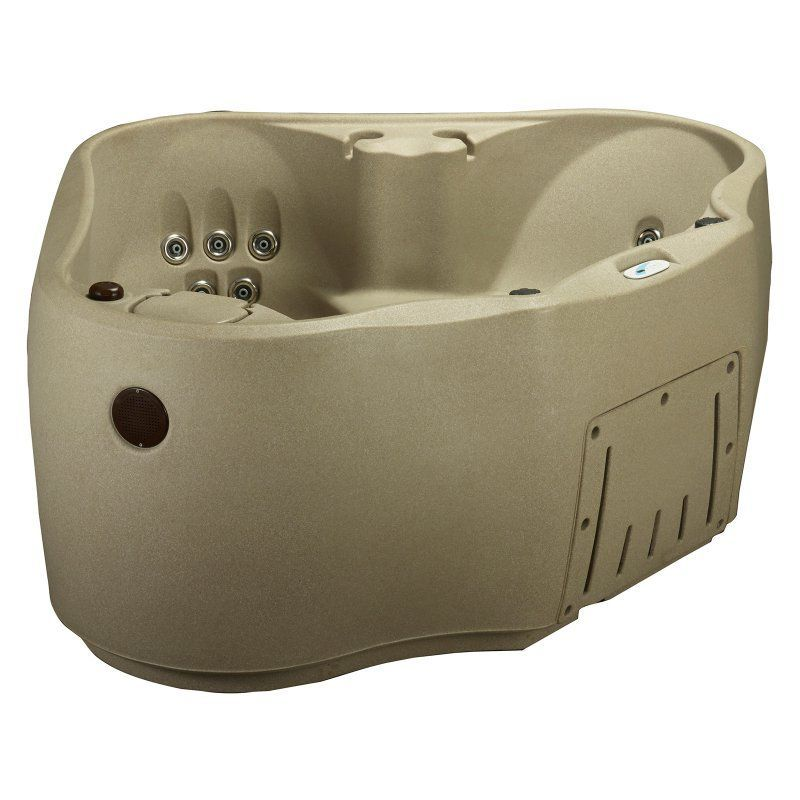 Aquarest Ar 300 2 Person Jet Spa Hot Tub Cobblestone Tri Uhs Cc
