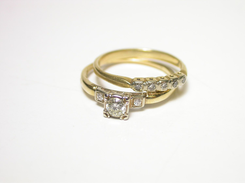 Resreved 1940 S Wedding Ring Set Wedding Rings Wedding Rings