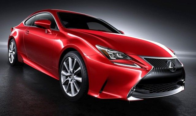 Upcoming Lexus Rc 350 In Striking New Red Paint Color Lexus Cars Lexus Red Paint Colors