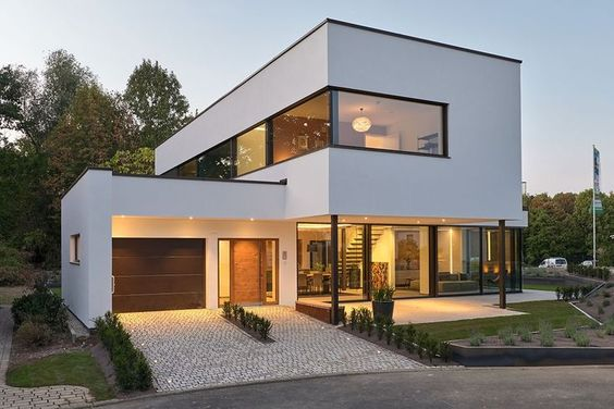 Modern dream home | Modern house design, Modern villa design ...