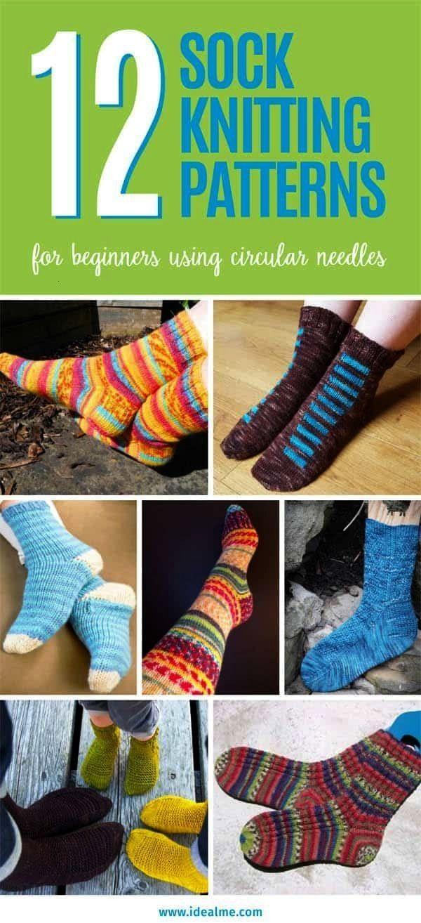 #beginners #knitting #patterns #circular #needles #sock # ...