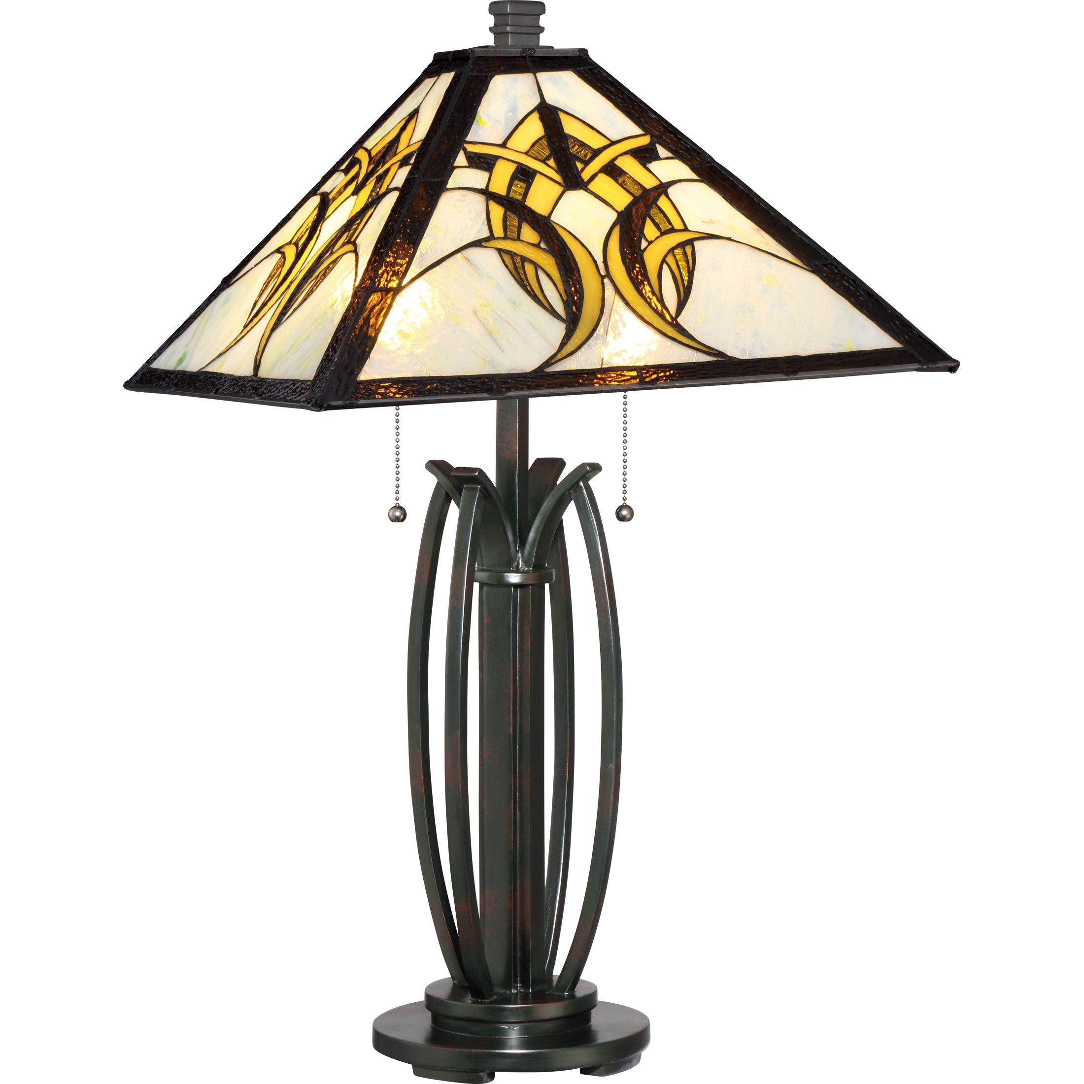 nickel about quoizel desk lamp included led qzspencertlbn sentinel details itm brushed spencer lamps