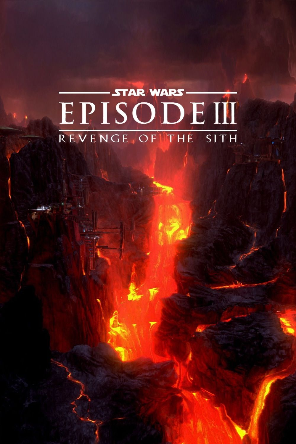 Star Wars Episode Iii Revenge Of The Sith 2005 Star Wars Movies Posters Star Wars Painting Star Wars Poster