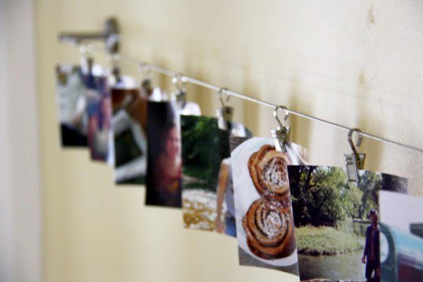 Ikea Hack Curtain Wire To Photo