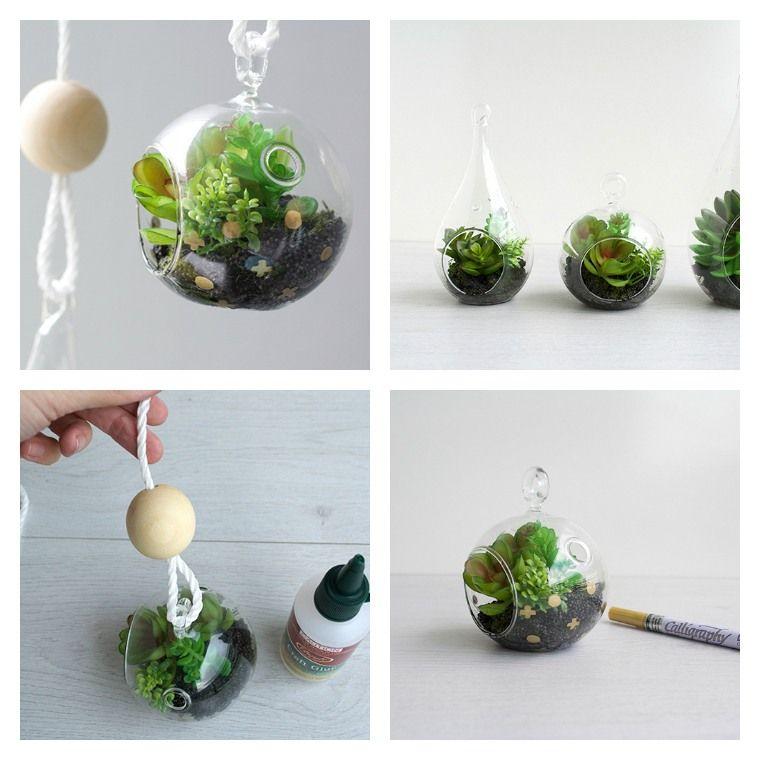 fabriquer un terrarium pour cadeau de Noël | Diy glass, Terrarium, Diy