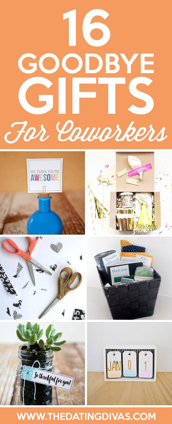 101 Cheap & Easy Goodbye Gifts