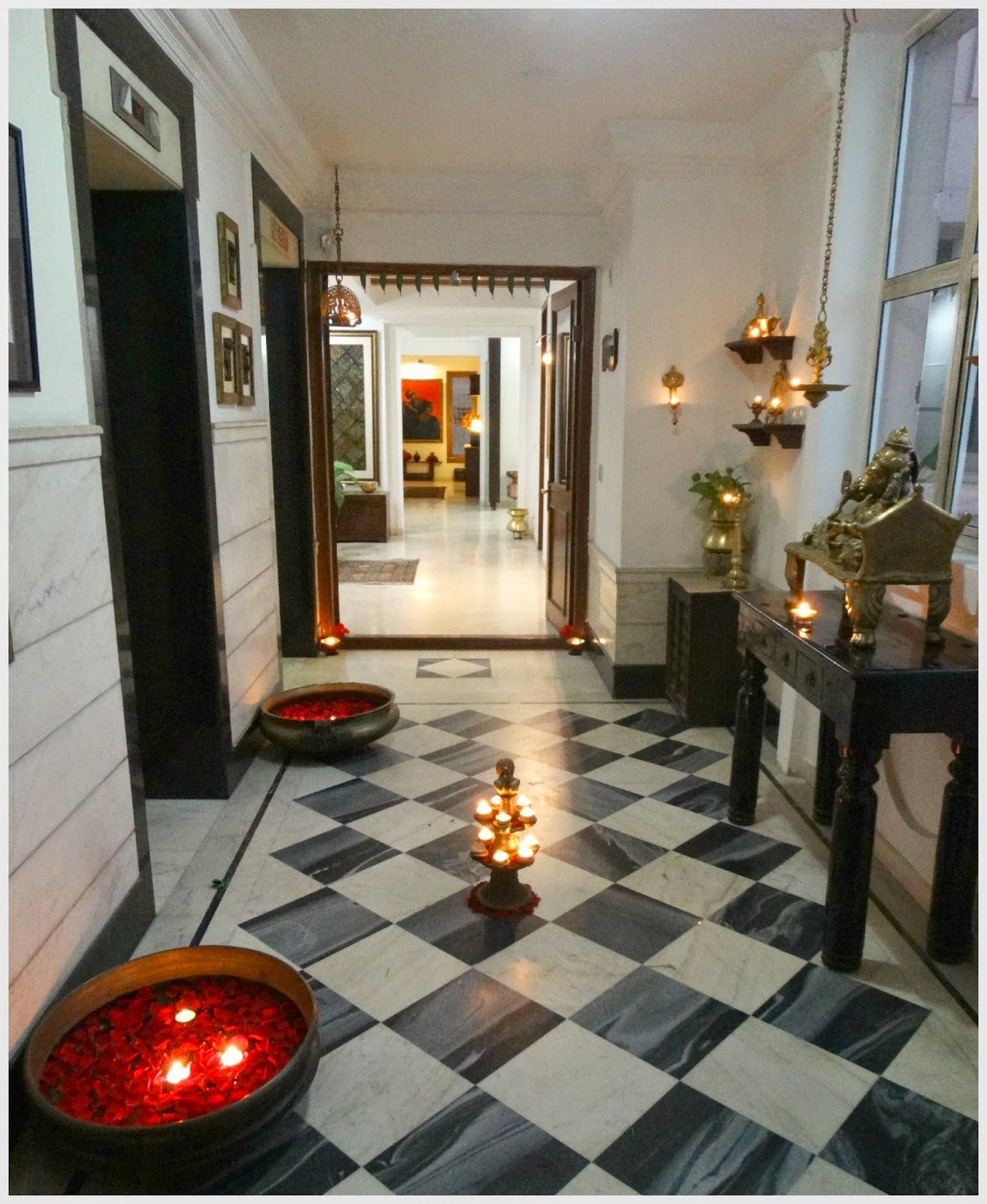 Indian Interior Design: Home Entrance Decor, India