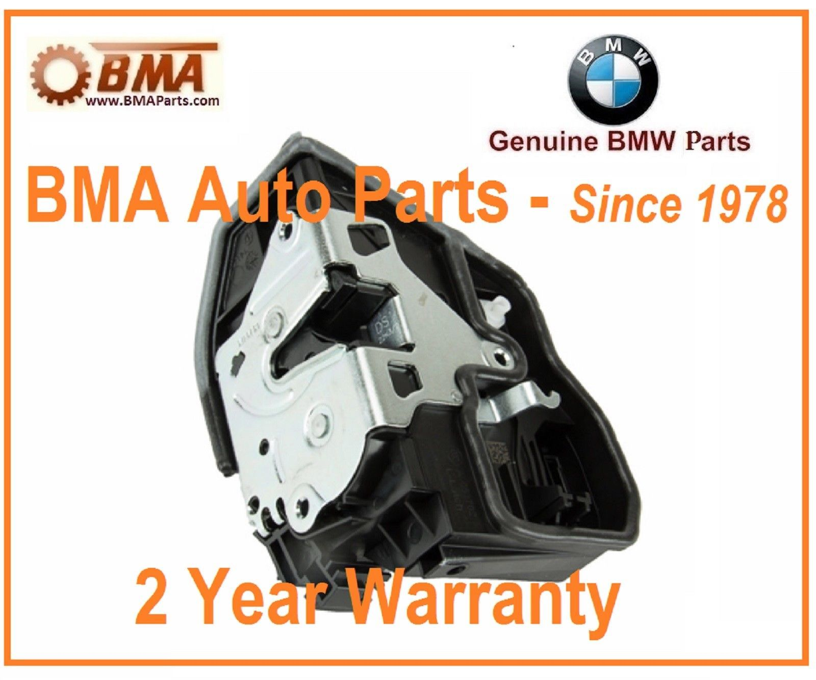 New Genuine Front Left Door Lock Actuator Bmw 5 6 7 X5 X6 51217202143 Bmw Bmw Key Power Motors