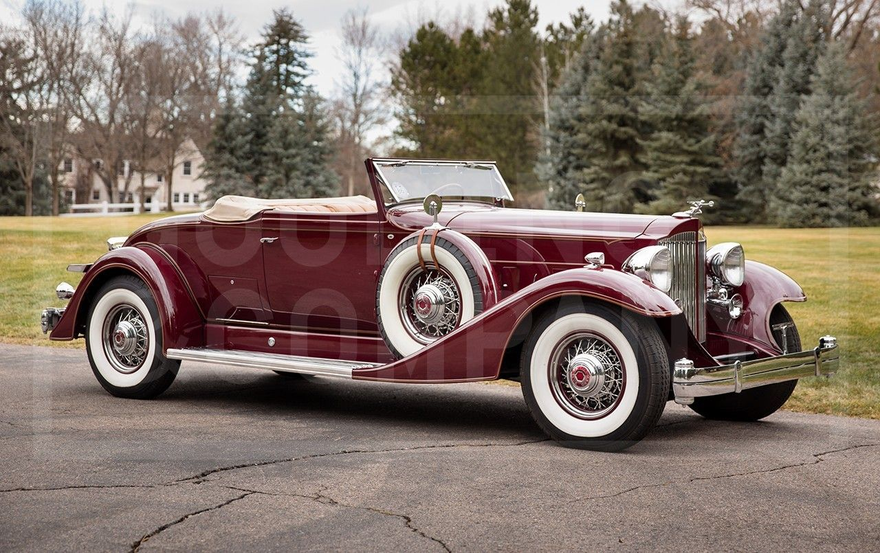 1933 Packard Twelve 1005 Coupe Roadster Sold For 440k With Images Packard Cars Roadsters Vintage Cars