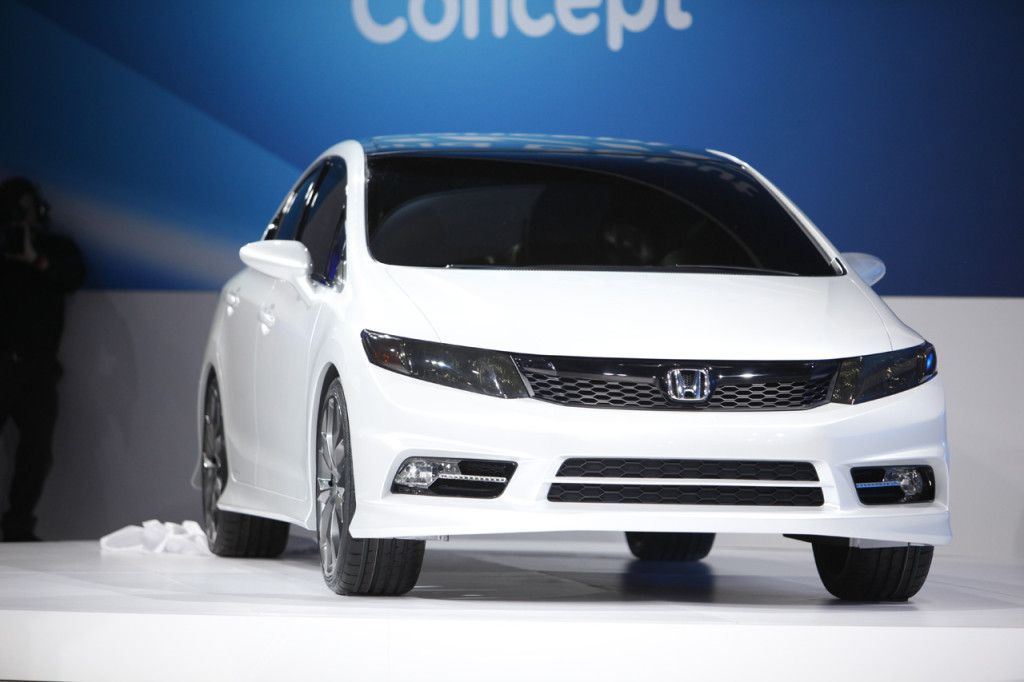 2016 honda civic si sedan front view design  DumAuto  Automotive