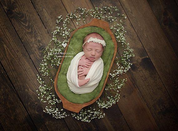 Trench Bowl Prop Newborn Photo Prop Basket Prop Photography