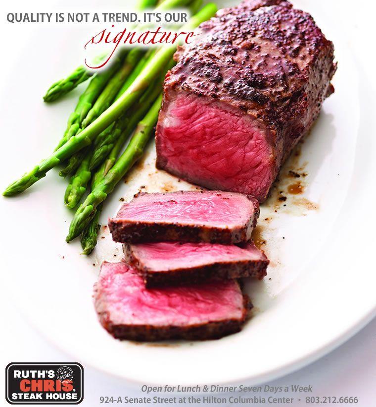 Steak Houses Columbia Sc Ruth S Chris Steak House Steak And Seafood Steak How To Cook Steak