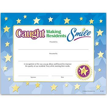 Caught making residents smile gold foil stamped certificate item caught making residents smile gold foil stamped certificate item rc 287e yadclub Choice Image