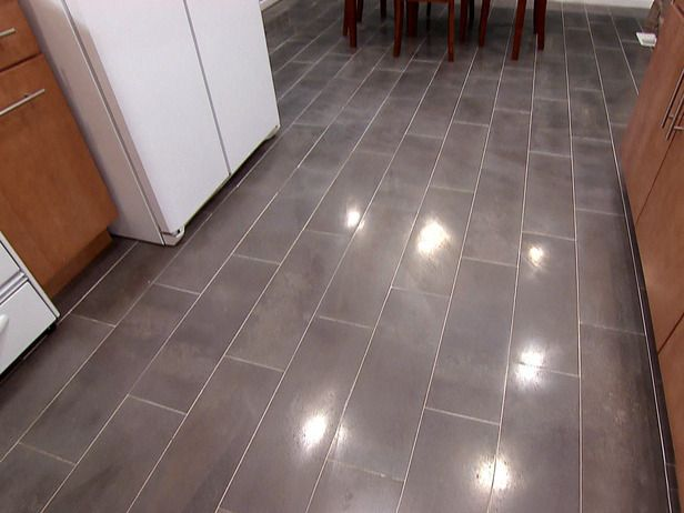 How to Install a Plank Tile Floor | Pinterest | Plank, Tile flooring ...