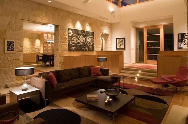 3 Tricks To Make Your Home Cozier. Sunken Living RoomContemporary ... Part 12