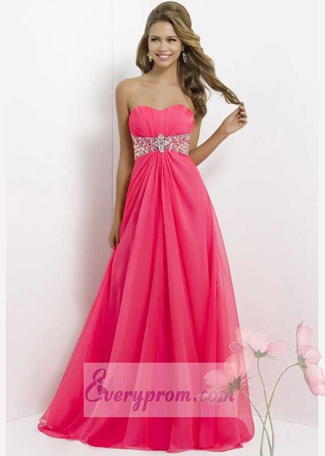 Blush 9509 Sparkly Pink Draped Full Length Dress For Less | Blush ...