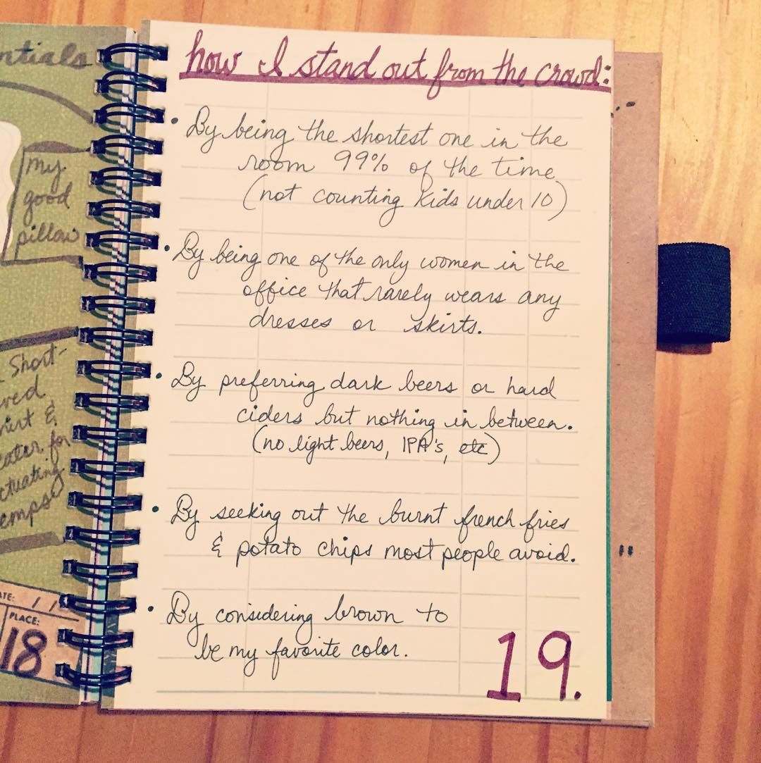 30 Days of Lists day 19 #30Lists