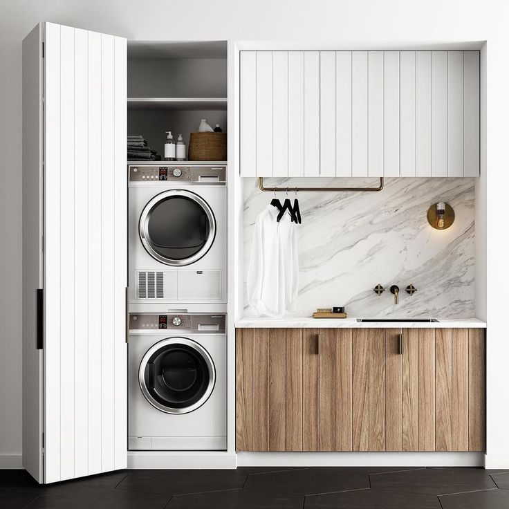 Scandinavian Bedroomdesign Inspiration: Laundry Room Design, Dream Laundry