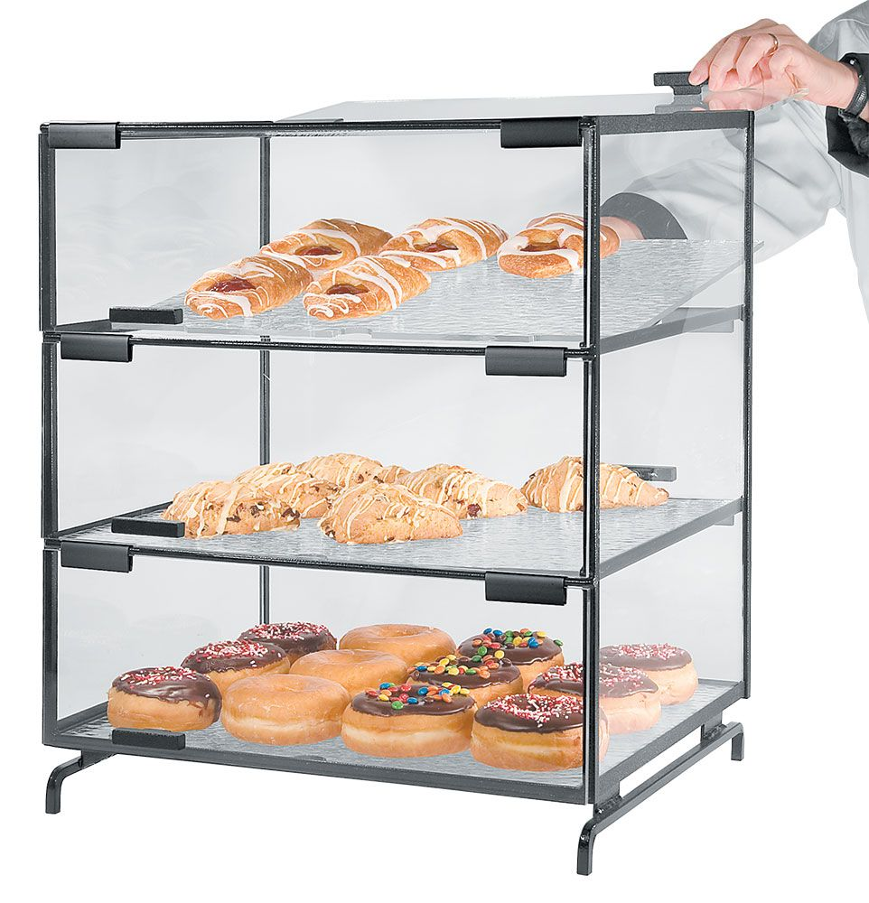 3 Level Pastry Case offers a convenient and hygienic way of serving ...