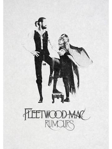 FLEETWOOD MAC, VINTAGE MUSIC POSTER #vintagemusic