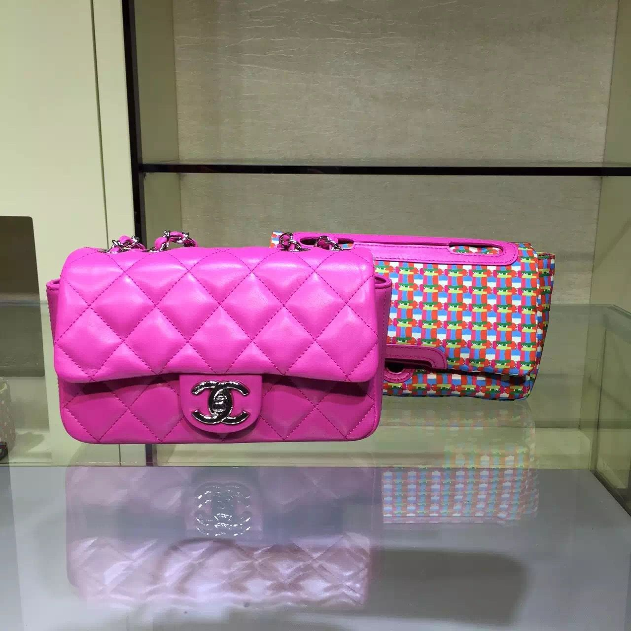a2ebf65d9ddc Chanel Rubber Flap Bag With A Removable Raincoat Cruise 2016 ...