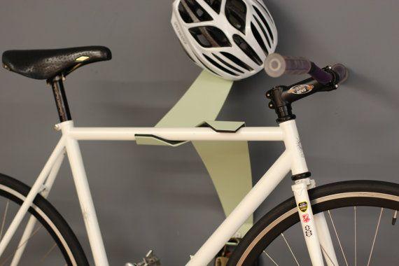 The Bike Valet  Metal  Vintage Green & Black by RecArtFurniture, $95.00