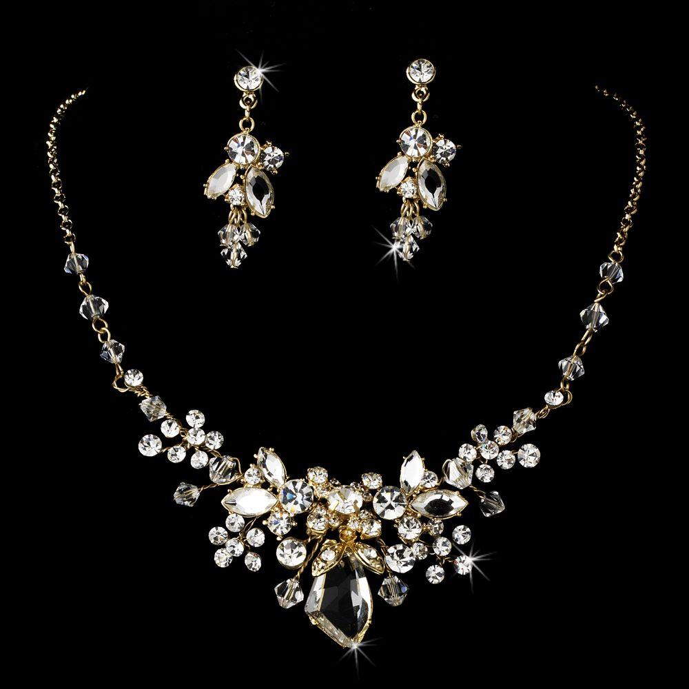 Swarovski Bridal Jewelry Silver Gold Tiaras Boutique