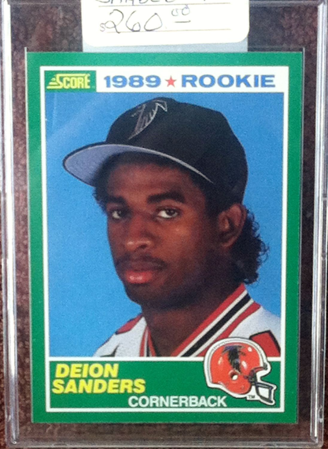 Deion Sanders 1989 Score Rookie Card 246 Etsy in 2020