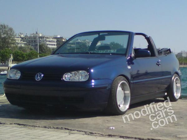 Modified Vw Modified Vw Golf Cabrio Mk4 2000 Pictures Modified