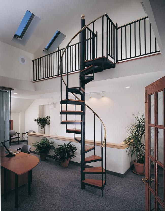 Best Shop Metal Spiral Staircases In 2020 Loft Railing 640 x 480
