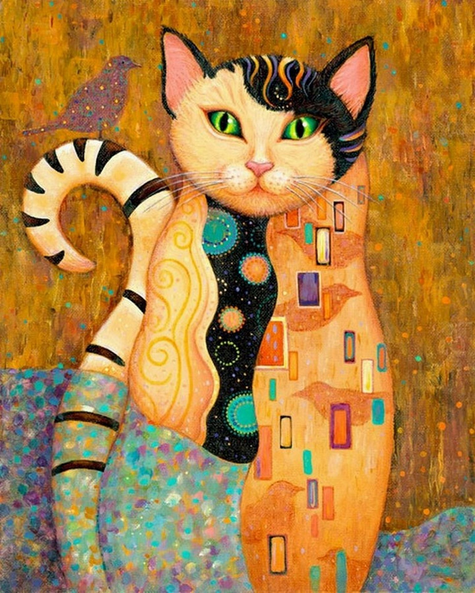 Cuadros De Klimt Gustav Pin By Charly Kuno On Arte Klimt Gustav Cat Art Klimt