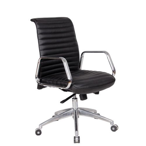 In Brown Ox Mid Back Office Chair Office Chair Chair Black
