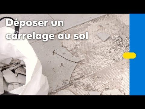 Comment enlever du carrelage au sol ? Castorama Castorama Pinterest