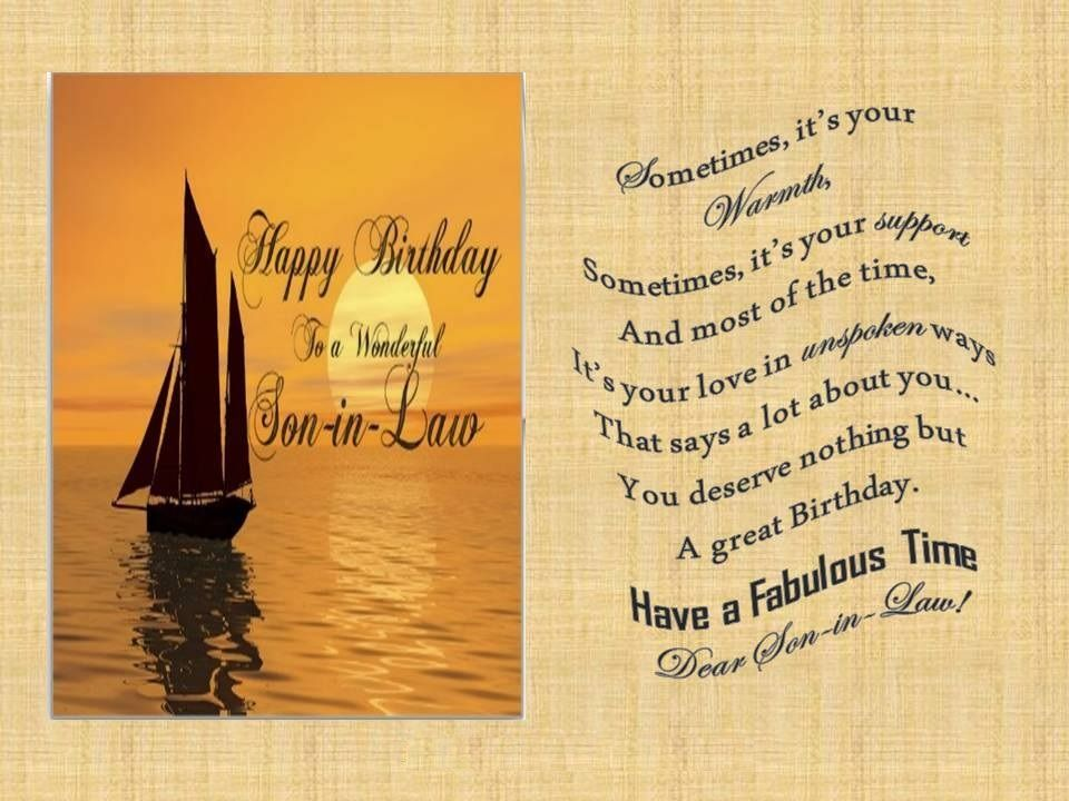 Happy birthday wishes for soninlaw birthday images