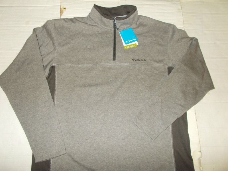 New Men s Columbia Sportswear Long Sleeve Schuss Half Zip Pullover Jersey  XL Listing in the Sweatshirts   Hoodies bcfe255d2