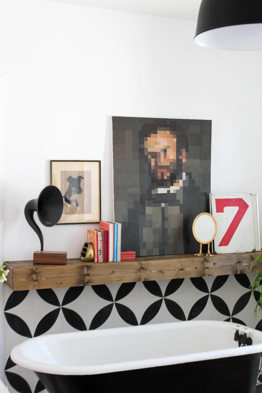 8 Seriously Smart Home Decor Hacks According To Reddit Floating Shelves Long Floating Shelves Rustic Floating Shelves