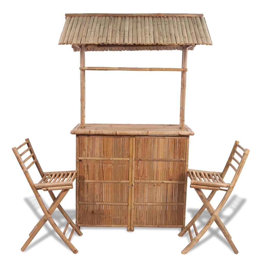 sillas jardin barras madera
