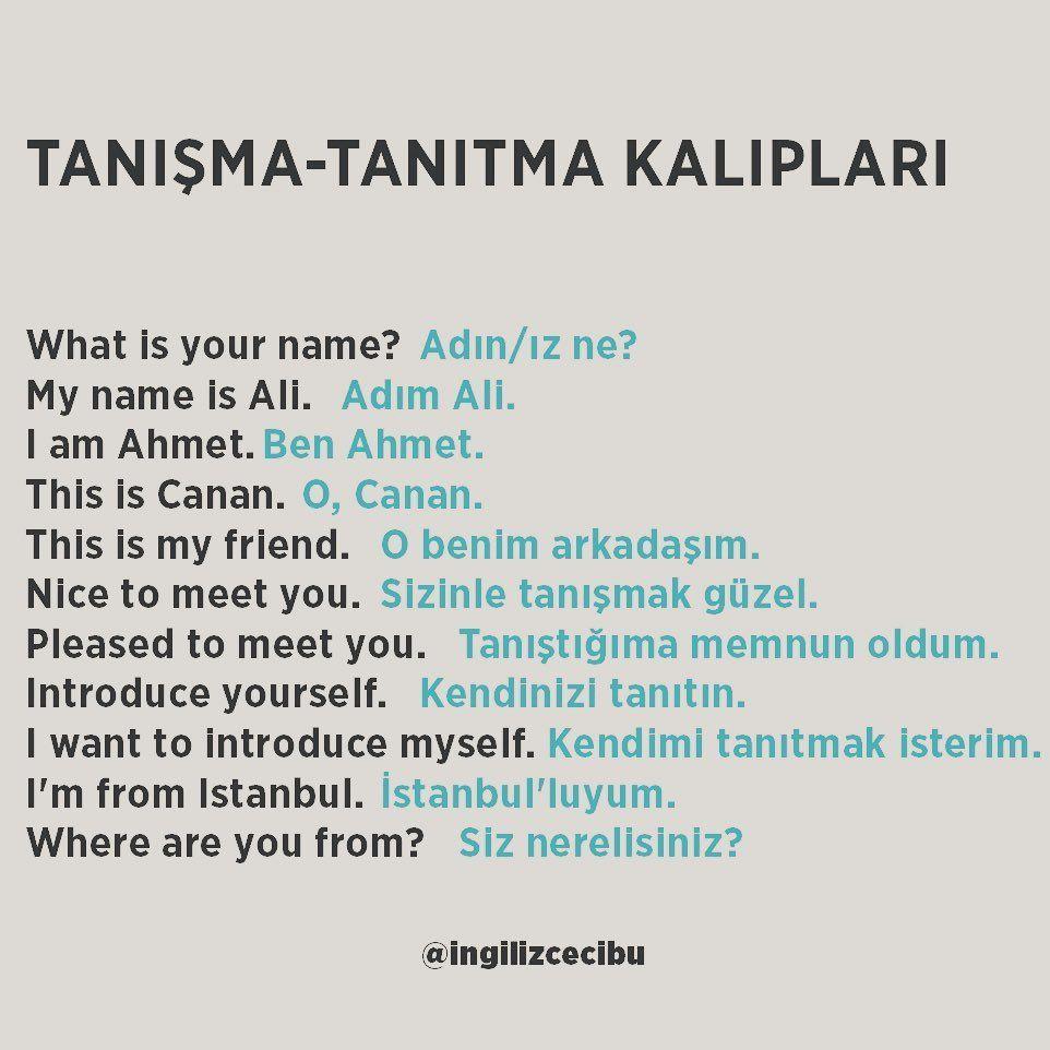 İngilizce-Türkçe