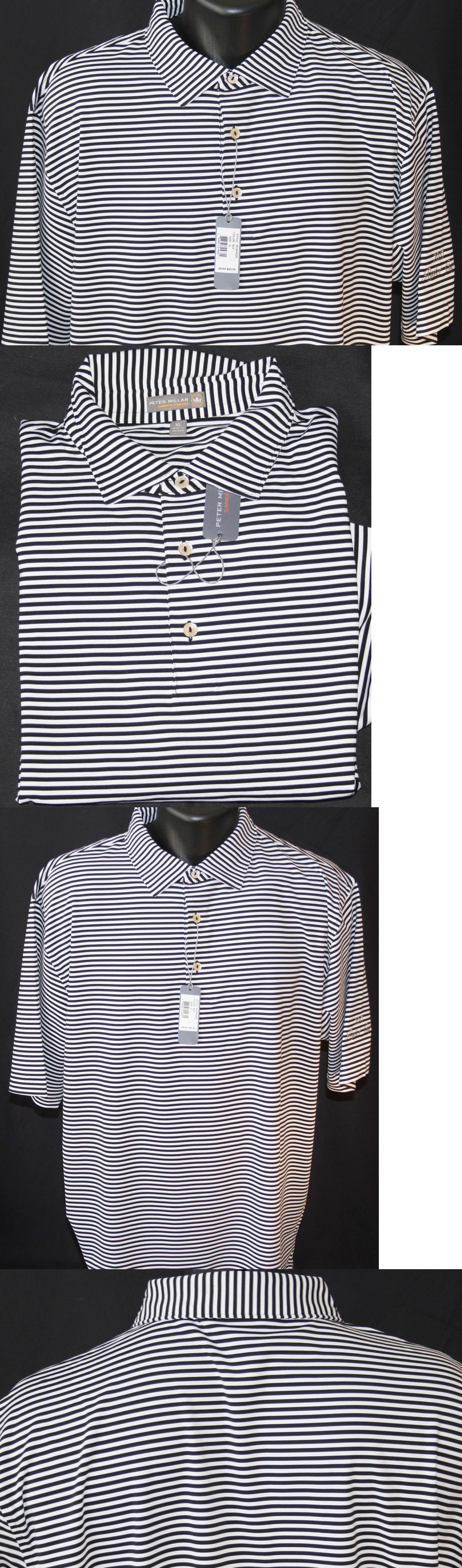 b274f6ca7e6b Polos 185101  New Men S Peter Millar Crown Sport Summer Comfort Performance  Golf Shirt Xl