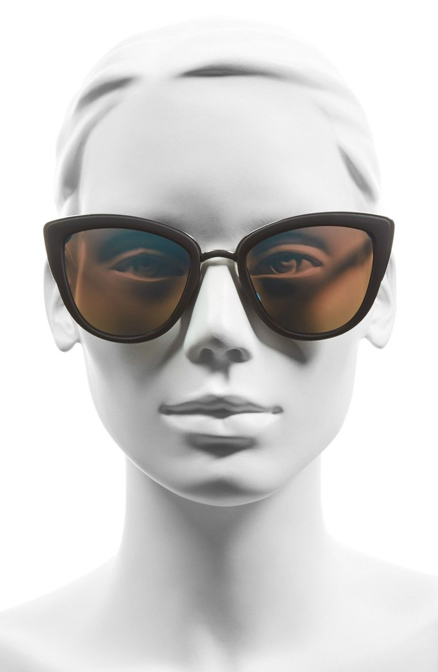 Main Image - Quay Australia 'My Girl' 50mm Cat Eye Sunglasses