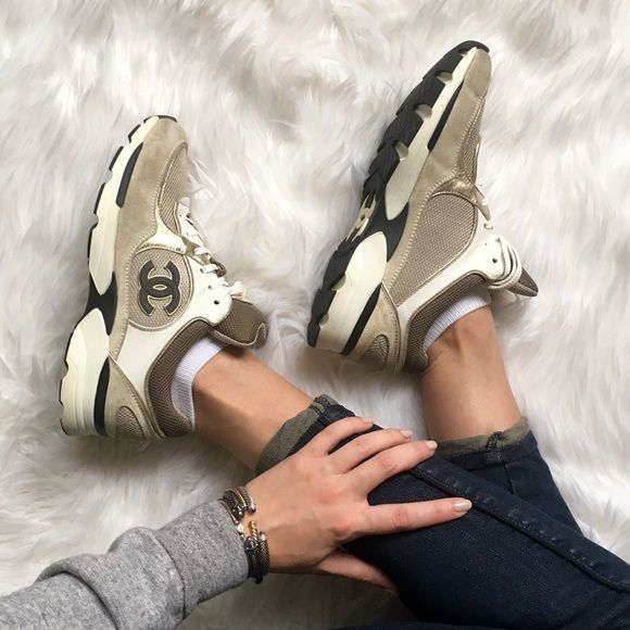 Authentic Chanel Trainers Sneakers