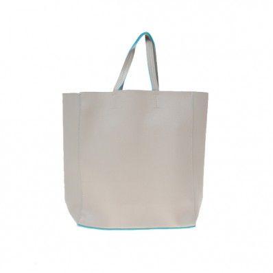 BSB1b: SALLY SHOPPING BAG - GREY (Min 1)