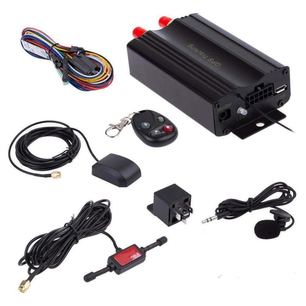 ATian GPS SMS tracker TK103B with remote control Free PC ...