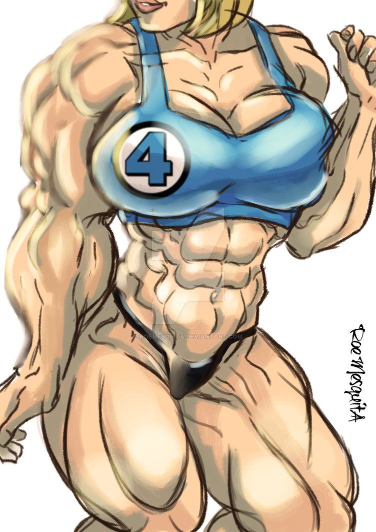 Huge Muscle Sue Storm By Roemesquita Muscle Girls Looking For Women Crossfit Women